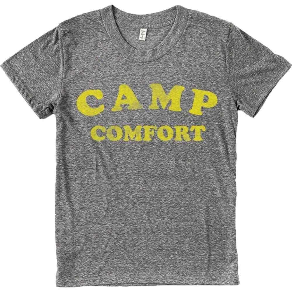 ブリッジアンドバーン Bridge & Burn レディース Tシャツ トップス【Camp Comfort T-Shirt】Dark Heather