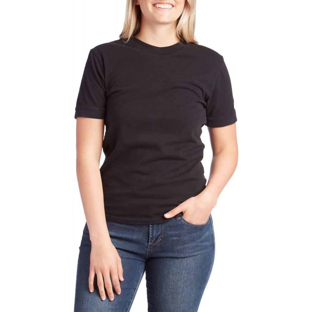 トポ デザイン Topo Designs レディース Tシャツ トップス【Rec T-Shirt】Black