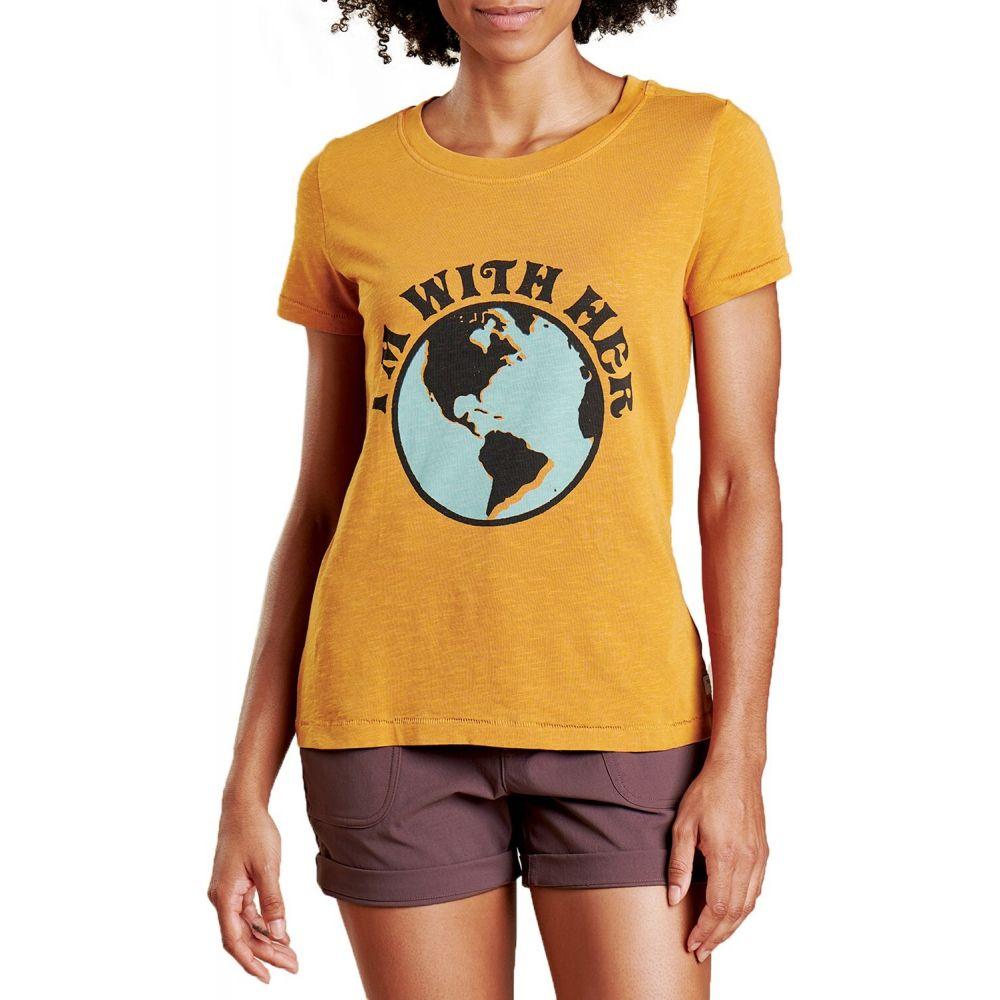 トードアンドコー Toad & Co レディース Tシャツ トップス【Primo Daily T-Shirt】Sunset Vintage Wash