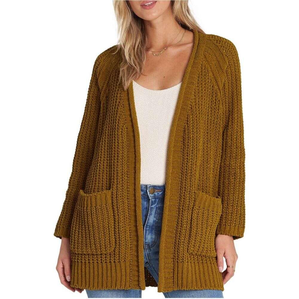 ビラボン Billabong レディース ニット・セーター トップス【Warm Up Sweater】Moss