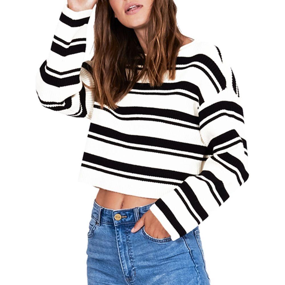 アミューズ ソサイエティー Amuse Society レディース ニット・セーター トップス【Bahia Sweater】Black