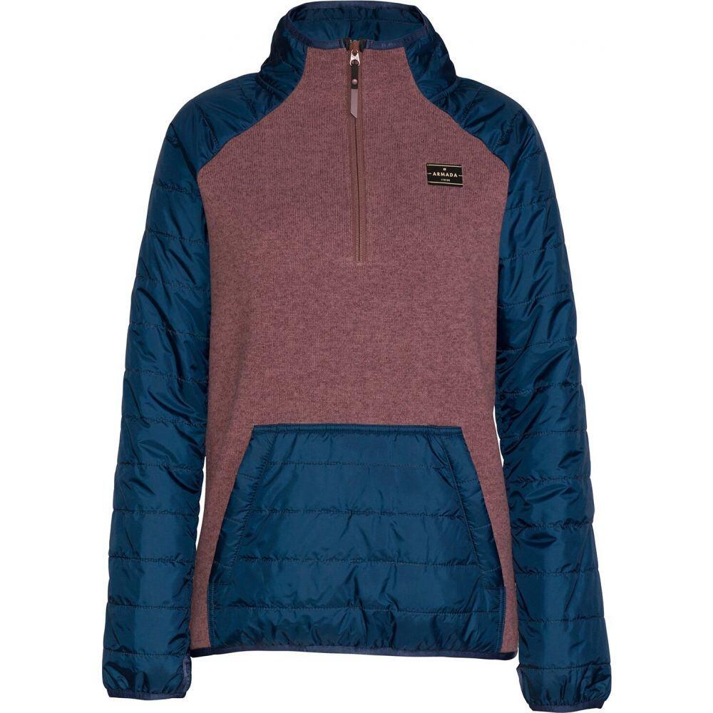 アルマダ Armada レディース ニット・セーター トップス【Emma Tech Sweater】Mauve