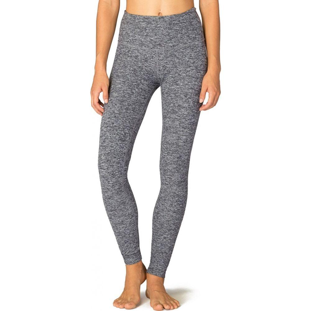 ビヨンドヨガ Beyond Yoga レディース フィットネス・トレーニング スパッツ・レギンス ボトムス・パンツ【Spacedye Take Me Higher Long Leggings】Black-White