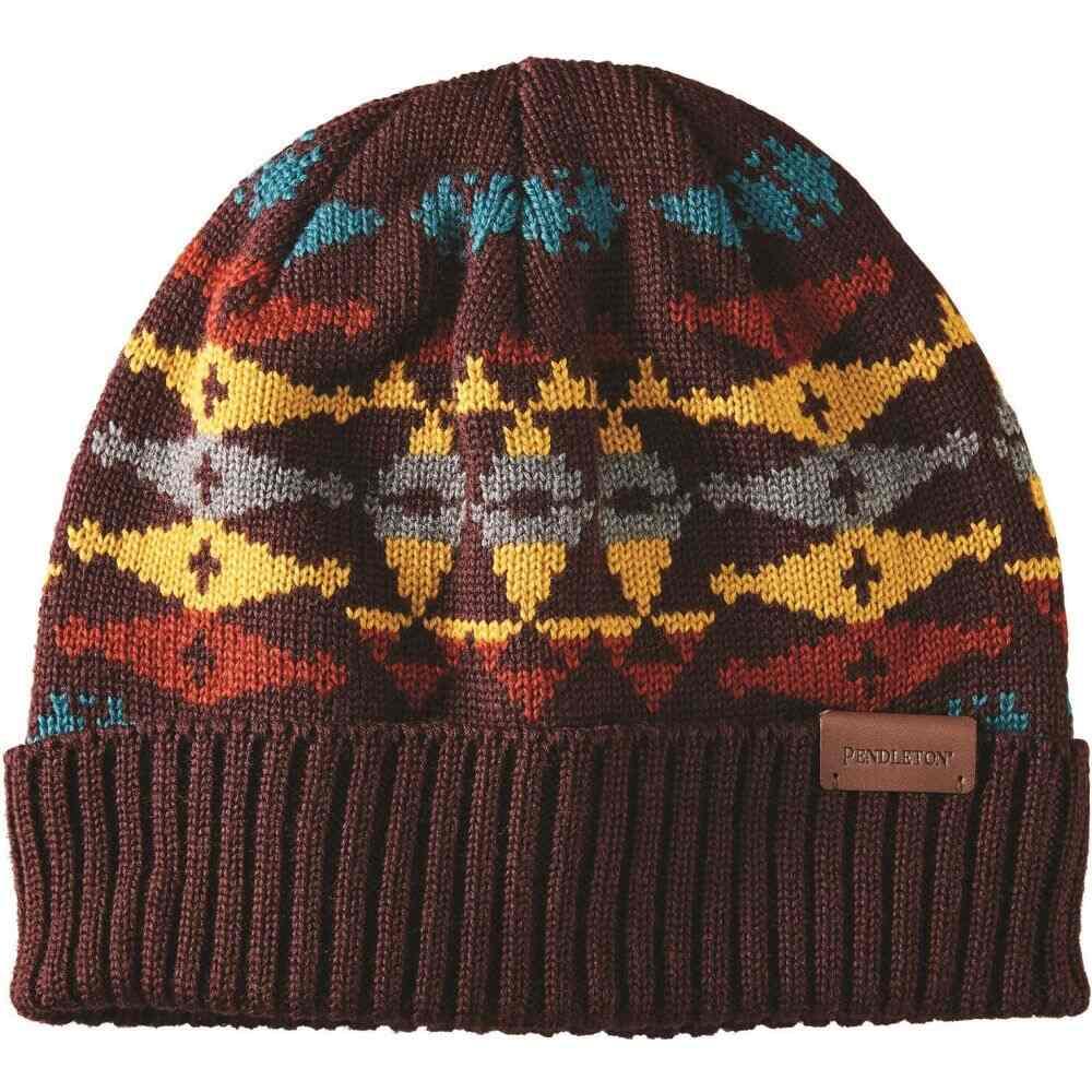 ペンドルトン Pendleton レディース ニット 帽子【Knit Cap】Redtop