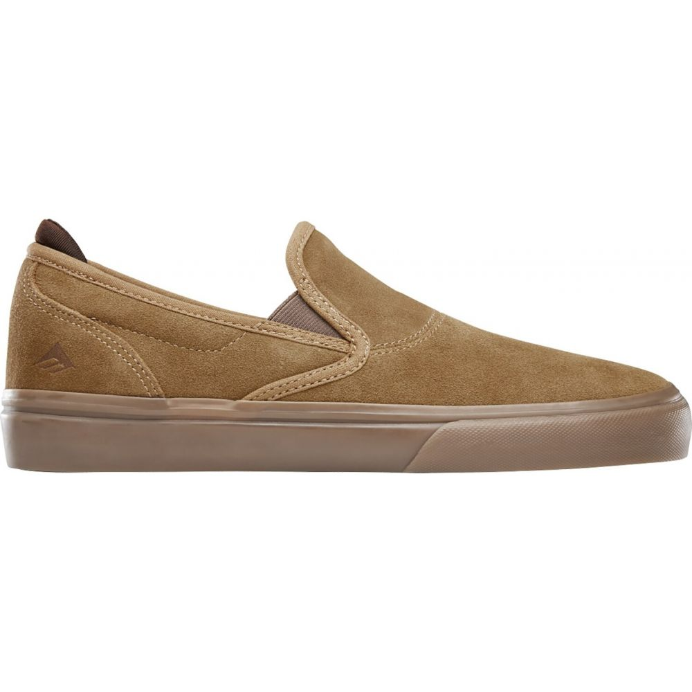 エメリカ Emerica メンズ スリッポン・フラット シューズ・靴【Wino G6 Slip-On Shoes】Brown/Brown/Gum