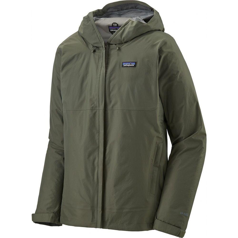 パタゴニア Patagonia メンズ レインコート アウター【Torrentshell 3L Jacket】Industrial Green