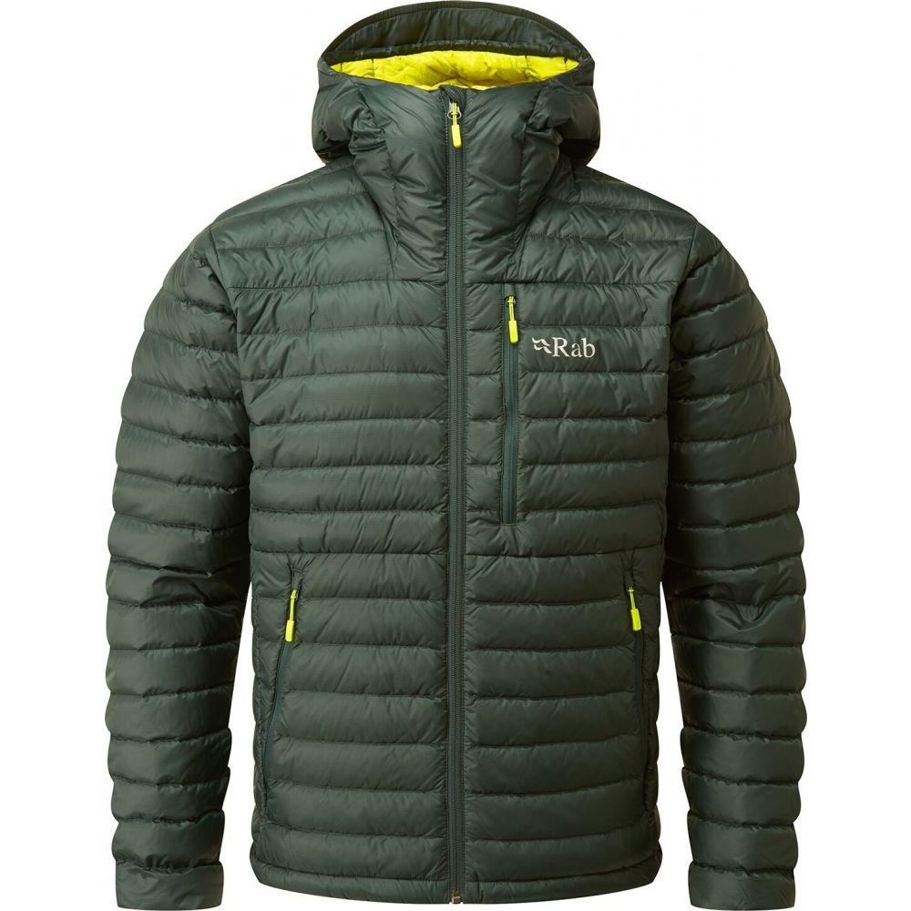 ラブ Rab メンズ ダウン・中綿ジャケット アウター【Microlight Alpine Jacket】Pine
