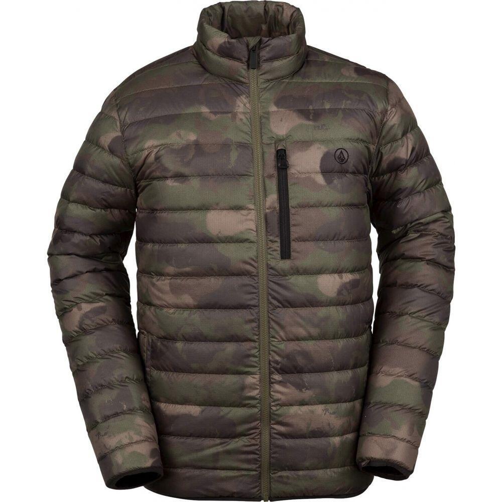 ボルコム Volcom メンズ ダウン・中綿ジャケット アウター【Puff Puff Give Jacket】Camouflage
