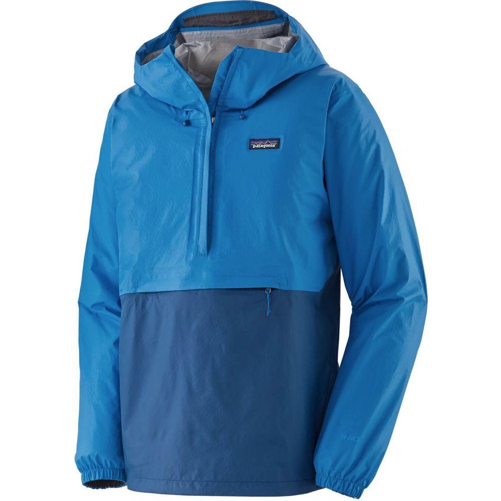 パタゴニア Patagonia メンズ レインコート アウター【Torrentshell 3L Pullover】Andes Blue