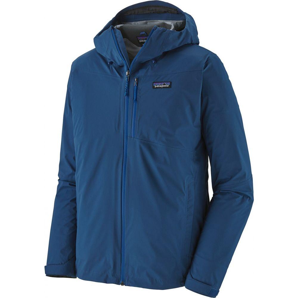 パタゴニア Patagonia メンズ レインコート アウター【Rainshadow Jacket】Superior Blue