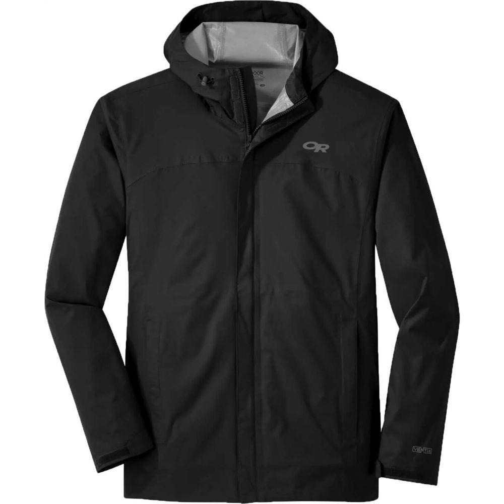 アウトドアリサーチ Outdoor Research メンズ レインコート アウター【Apollo Stretch Jacket】Black