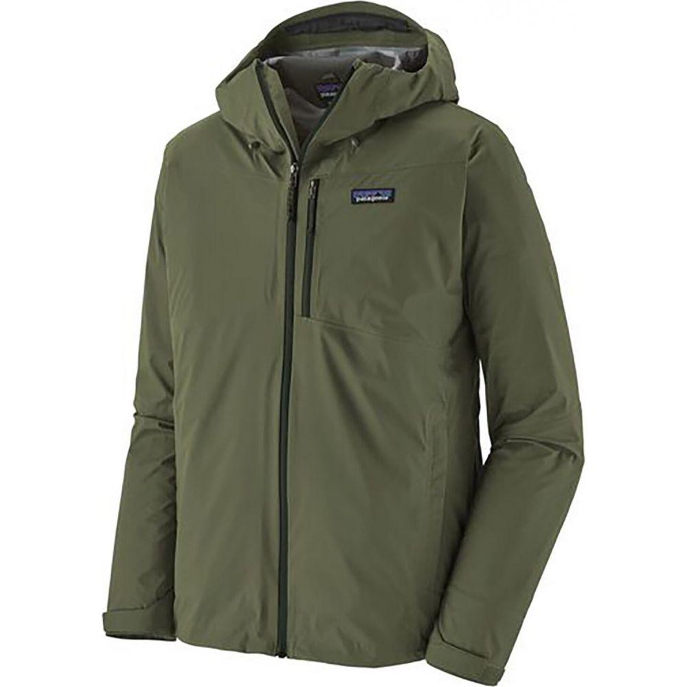 パタゴニア Patagonia メンズ レインコート アウター【Rainshadow Jacket】Industrial Green