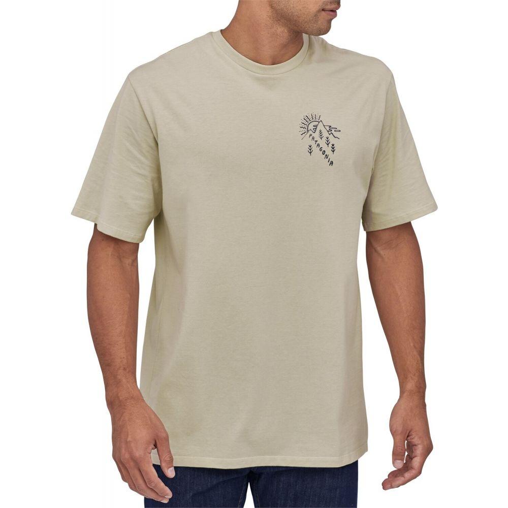 パタゴニア Patagonia メンズ Tシャツ トップス【How To Help Organic T-Shirt】Pumice