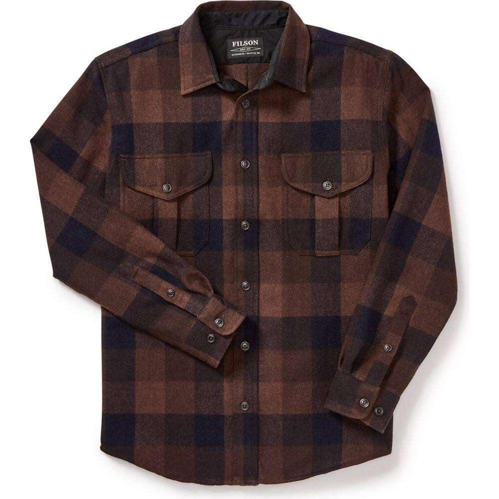 フィルソン Filson メンズ シャツ トップス【Northwest Wool Shirt】Brown/Rust/Navy Plaid