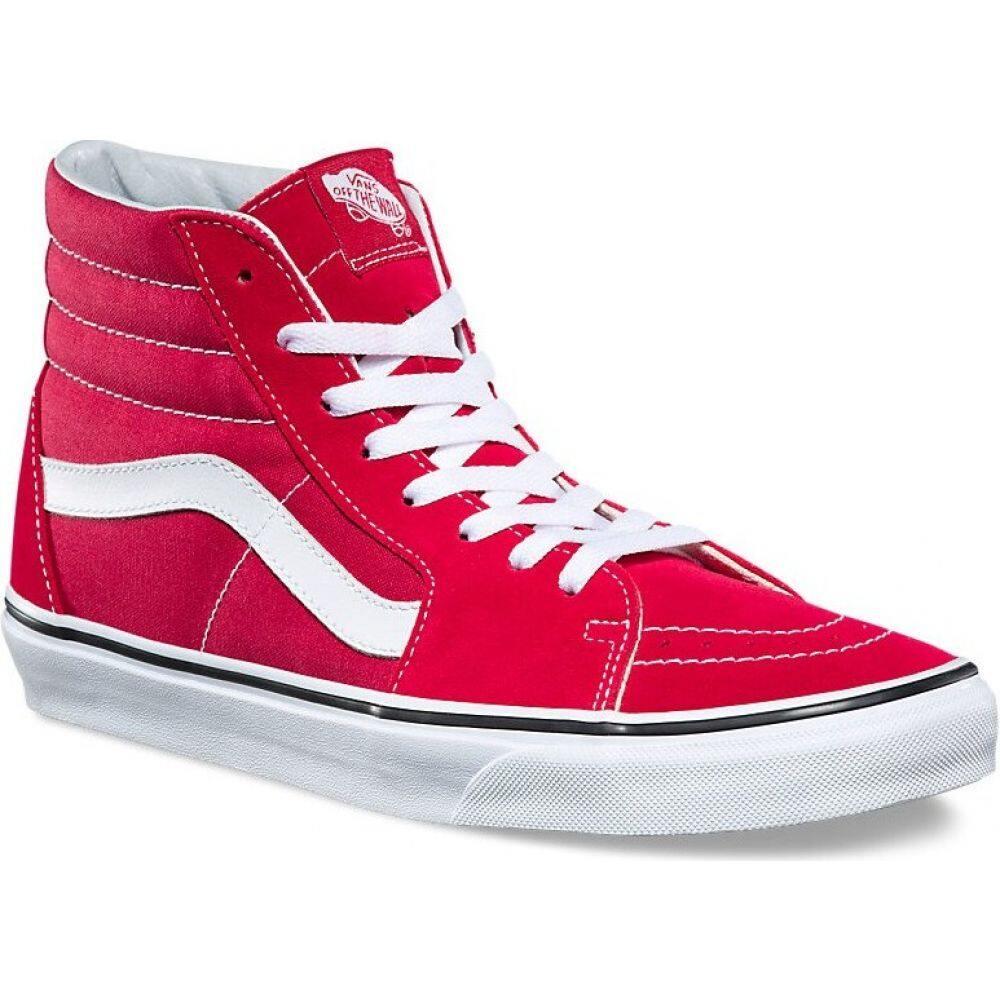 ヴァンズ Vans メンズ スケートボード シューズ・靴【Sk8-Hi Shoes】Crimson/TrueWhite