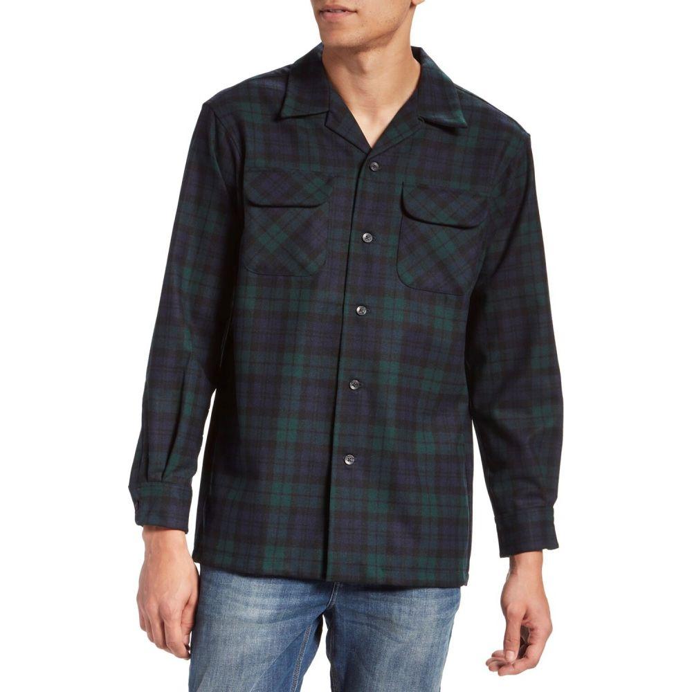 ペンドルトン Pendleton メンズ シャツ トップス【The Original Board Shirt(TM) Flannel】Black Watch Tartan