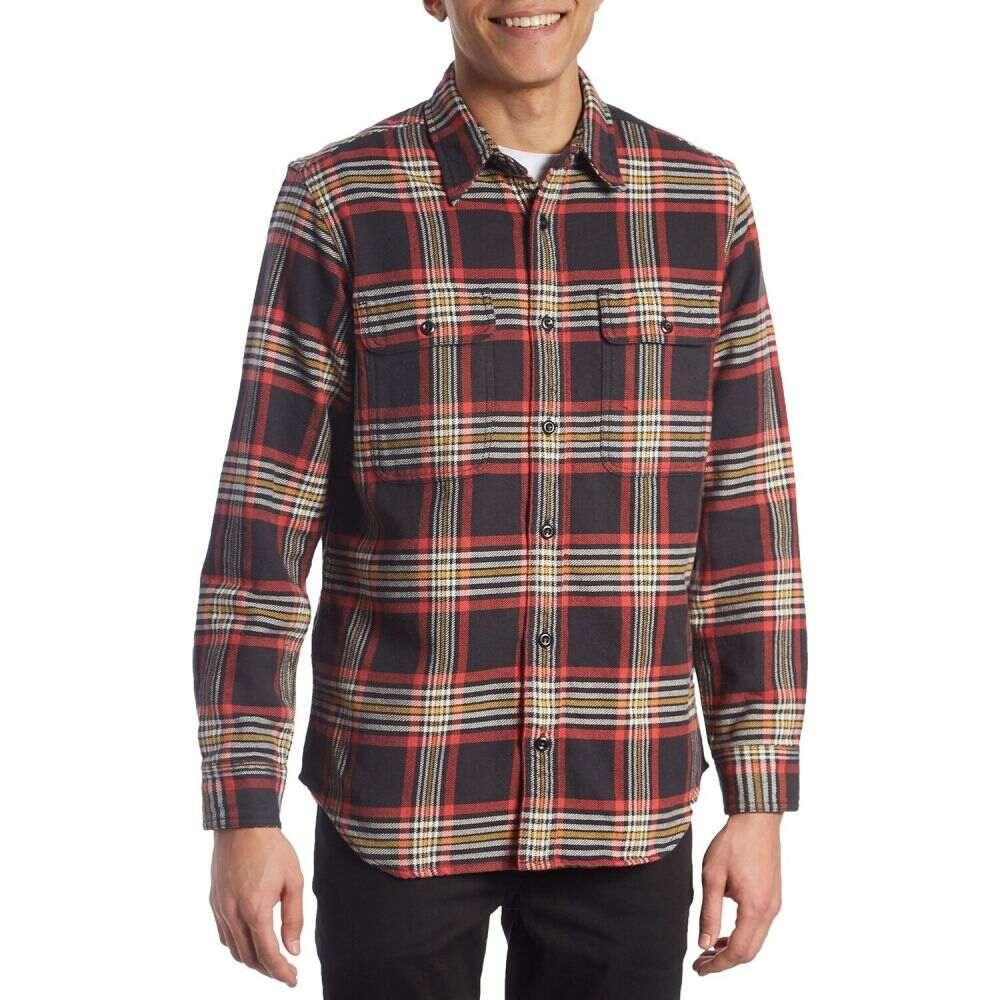 フィルソン Filson メンズ シャツ フランネルシャツ トップス【Vintage Flannel Work Shirt】Black/Red/Gold Plaid