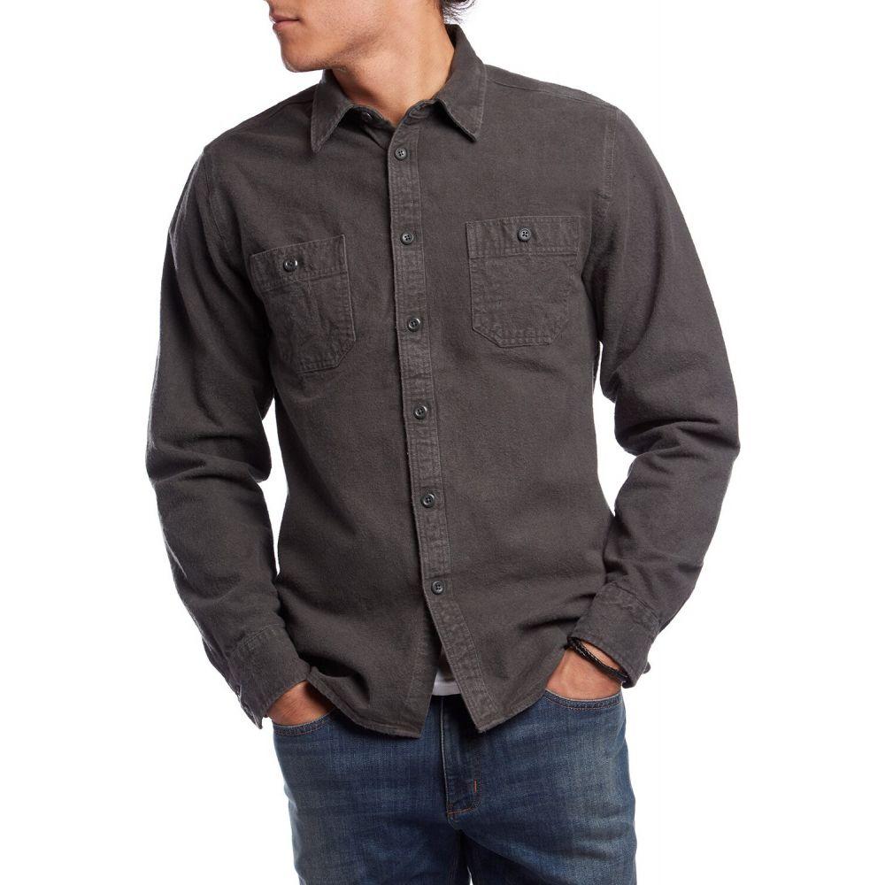 アーバー Arbor メンズ シャツ トップス【Foundation Chamois Shirt】Black