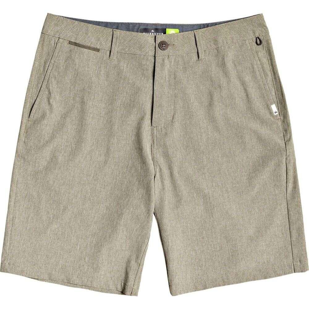 クイックシルバー Quiksilver メンズ ショートパンツ ボトムス・パンツ【Union Heather Amphibian Hybrid Shorts】Kalamata