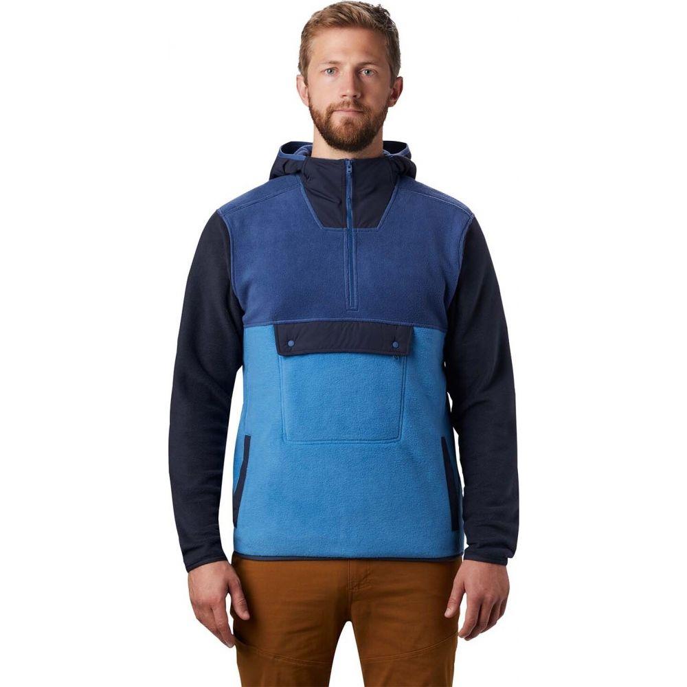 マウンテンハードウェア Mountain Hardwear メンズ パーカー トップス【UnClassic(TM) Fleece Pullover Hoodie】Better Blue