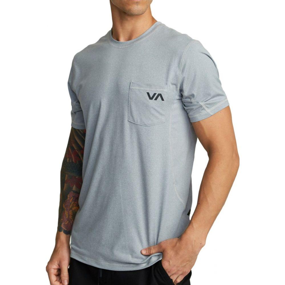ルーカ RVCA メンズ フィットネス・トレーニング Tシャツ トップス【Sport Vent T-Shirt】Charcoal Heather