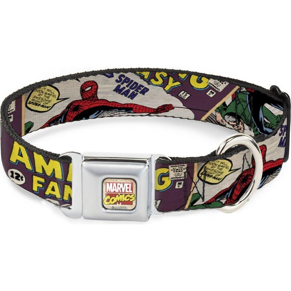 バックルダウン Buckle-Down ペットグッズ 犬用品 豪華な 首輪 カラー Collar Spider-Man Dog Polyester 日本最大級の品揃え ハーネス リード