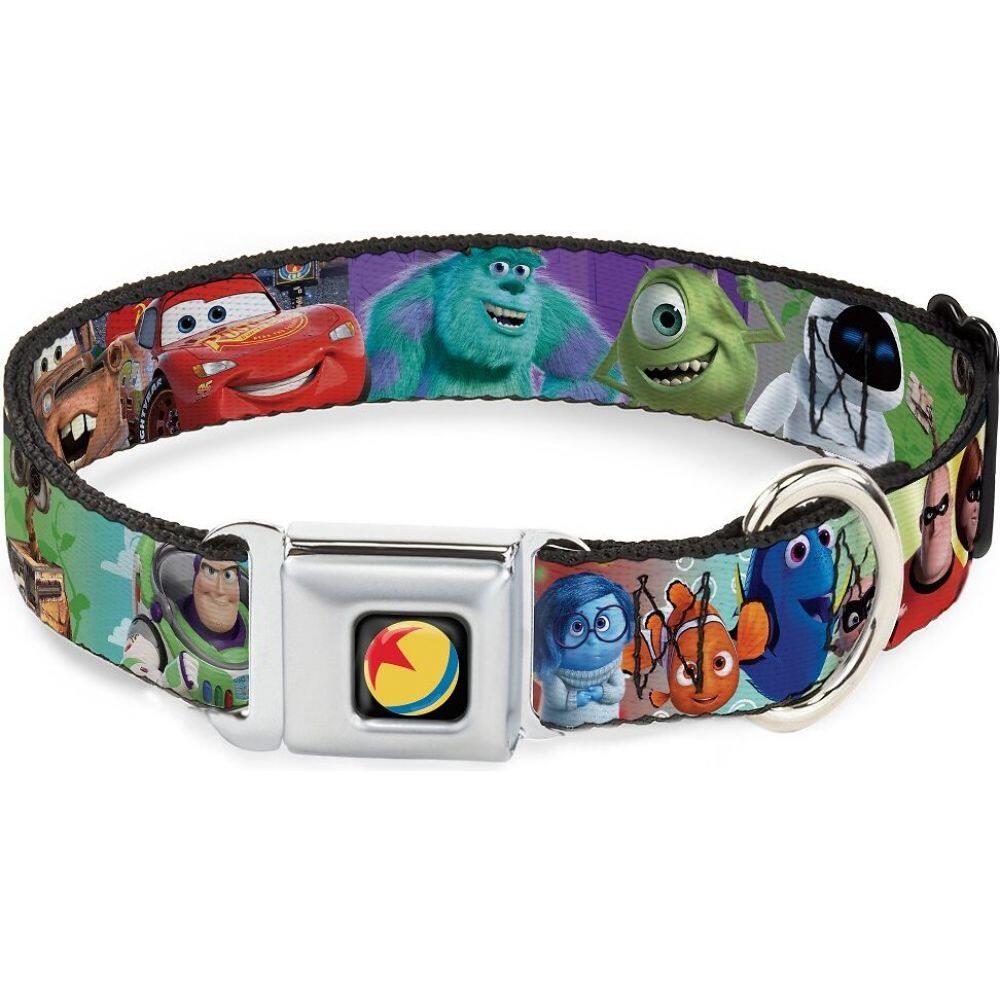 バックルダウン Buckle-Down ペットグッズ 犬用品 首輪 カラー ハーネス Pixar Polyester 新品未使用 Disney Collar Dog リード クリアランスsale 期間限定