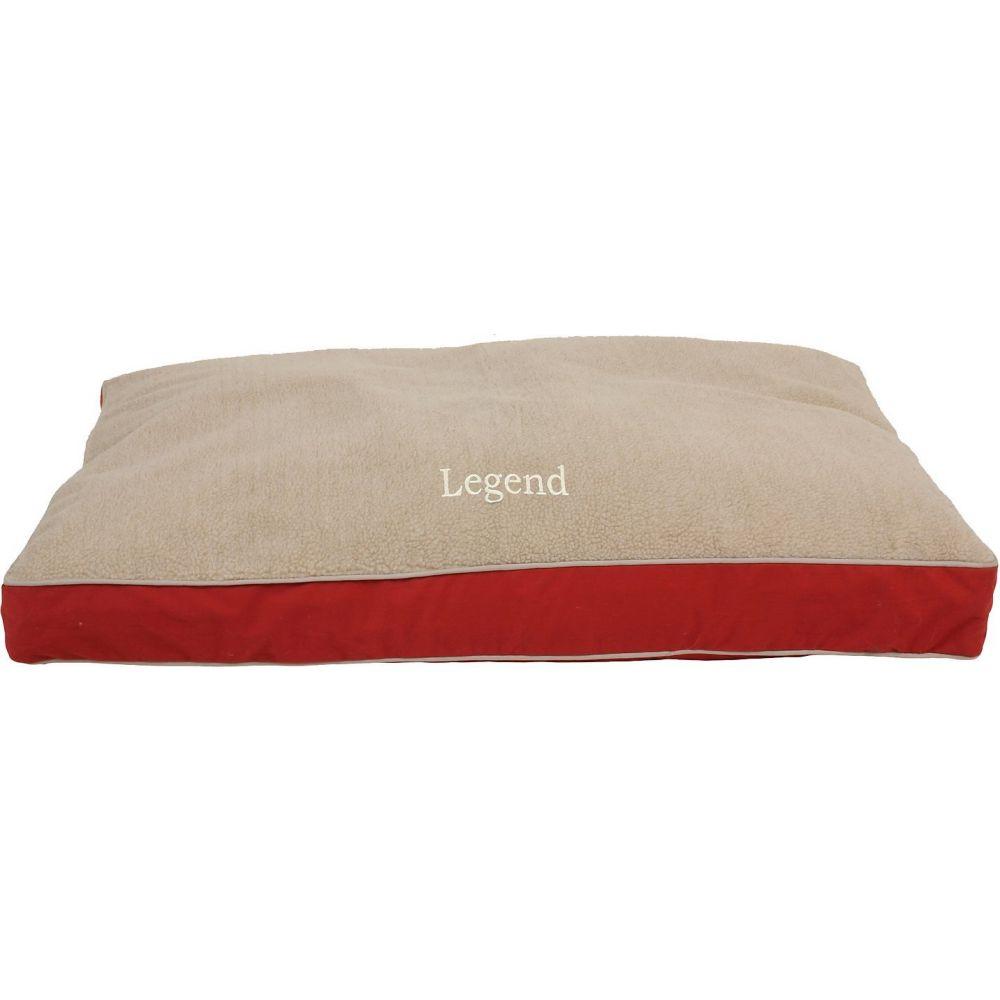 Carolina Pet カロリナ ペットグッズ 犬用品 ベッド・マット・カバー ベッド【Personalized Four Season Jamison With Cashmere Berber Top Dog Bed】Barn Red