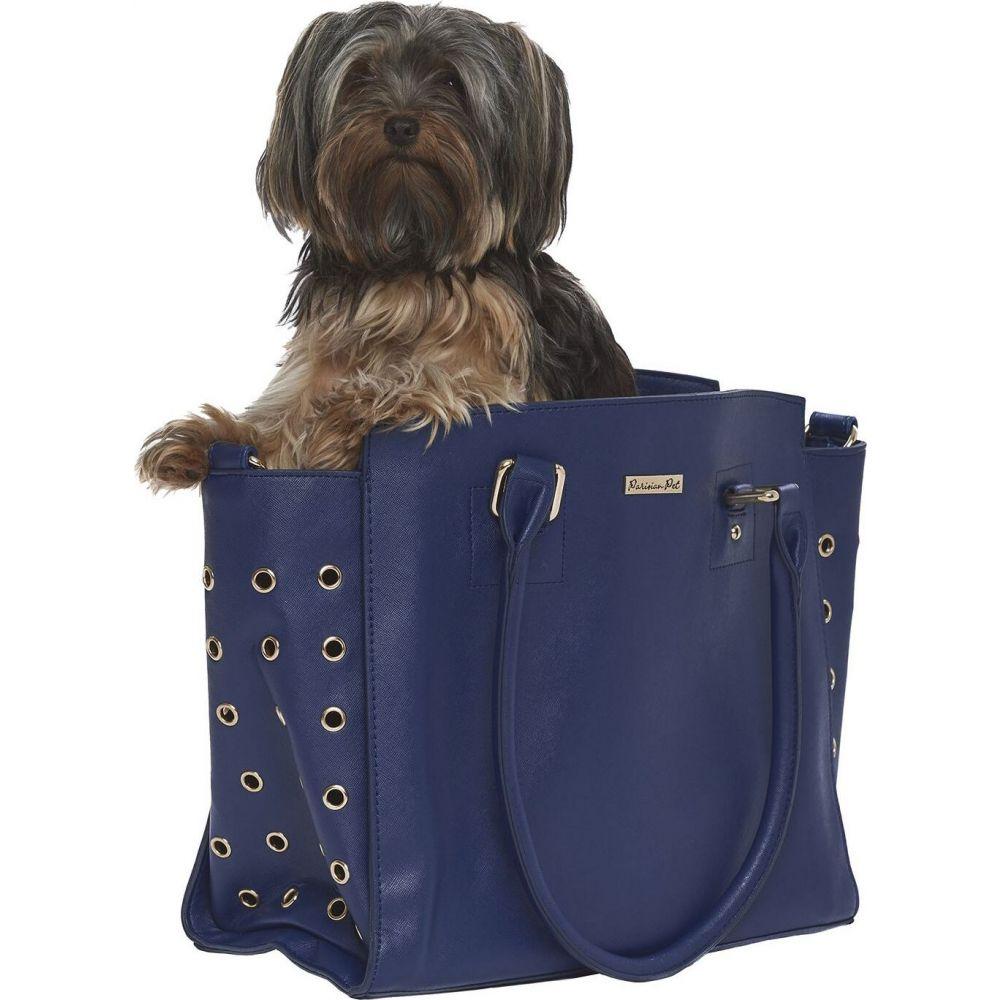 Parisian Pet パリジャンペット ペットグッズ 犬用品 キャリーバッグ 【Santorini Dog Carrier】Blue
