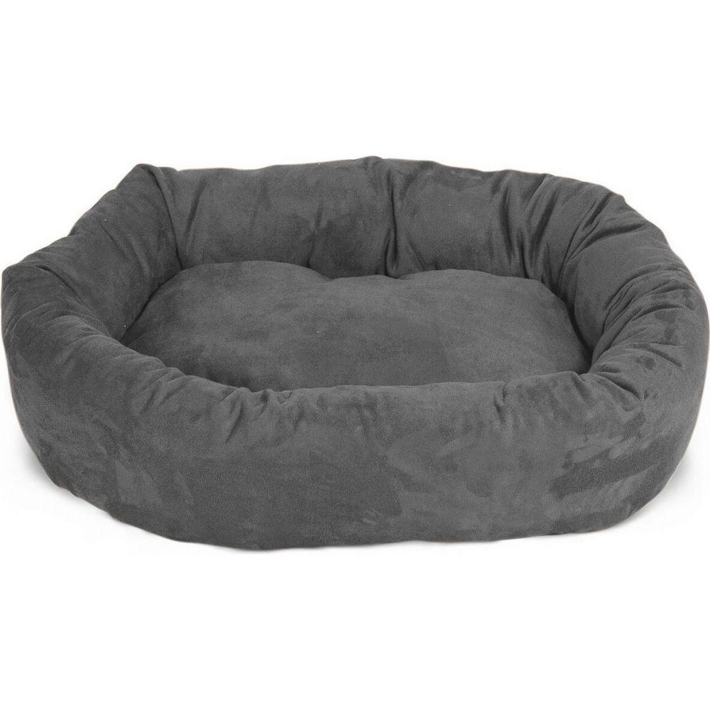 Majestic Pet マジェスティックペット ペットグッズ 犬用品 ベッド・マット・カバー ベッド【Suede Bagel Dog Bed】Gray