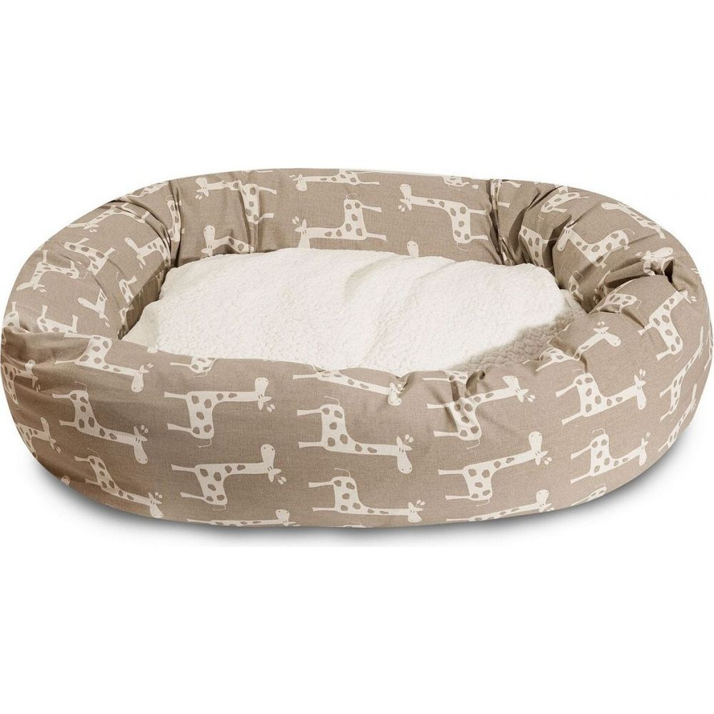 Majestic Pet マジェスティックペット ペットグッズ 犬用品 ベッド・マット・カバー ベッド【Stretch Sherpa Bagel Dog Bed】Brown