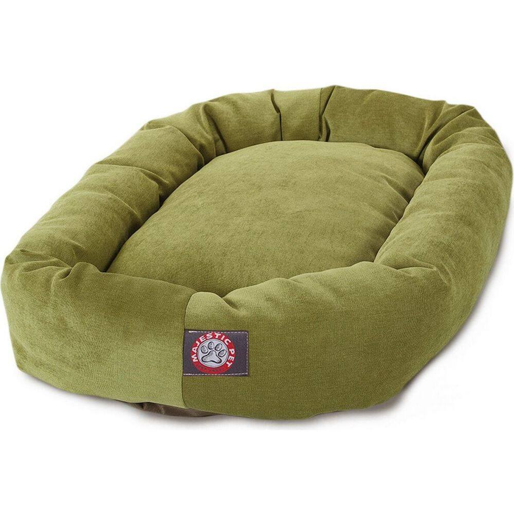 Majestic Pet マジェスティックペット ペットグッズ 犬用品 ベッド・マット・カバー ベッド【Villa Micro-Velvet Bagel Dog Bed】Lime