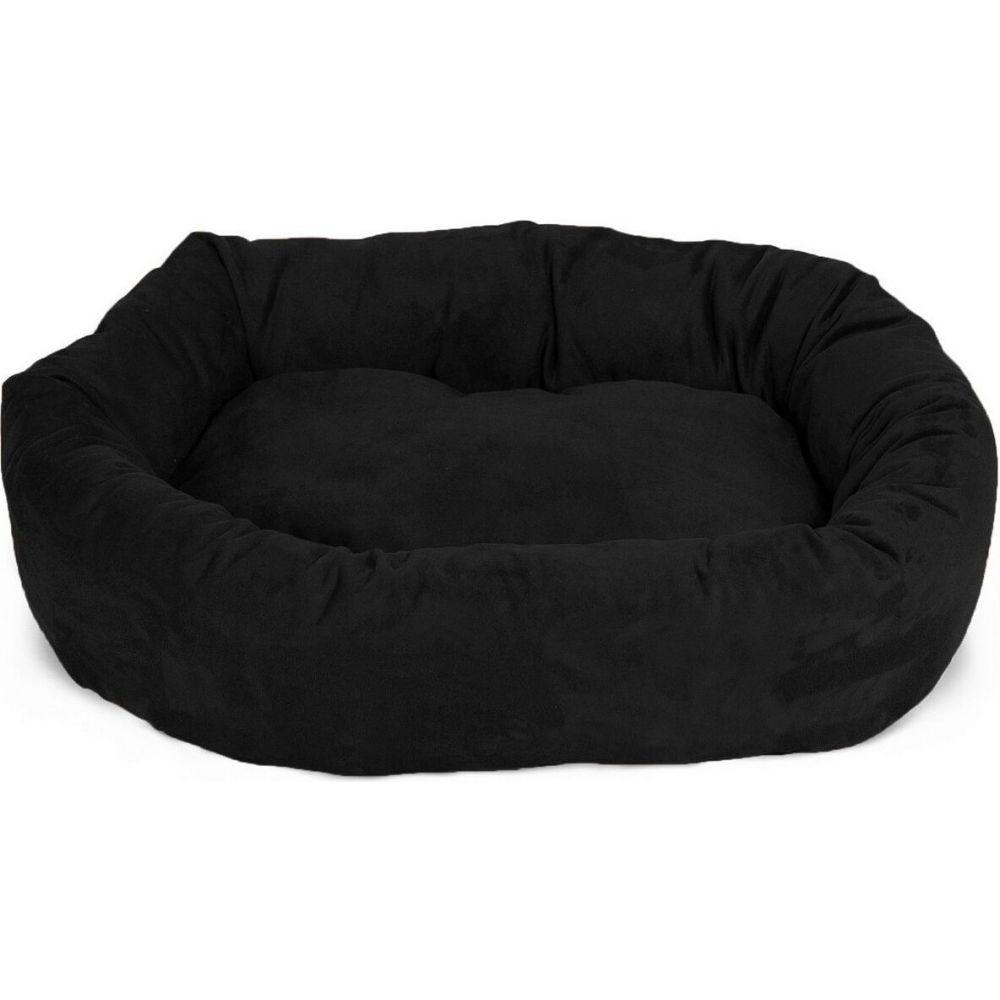 Majestic Pet マジェスティックペット ペットグッズ 犬用品 ベッド・マット・カバー ベッド【Suede Bagel Dog Bed】Black