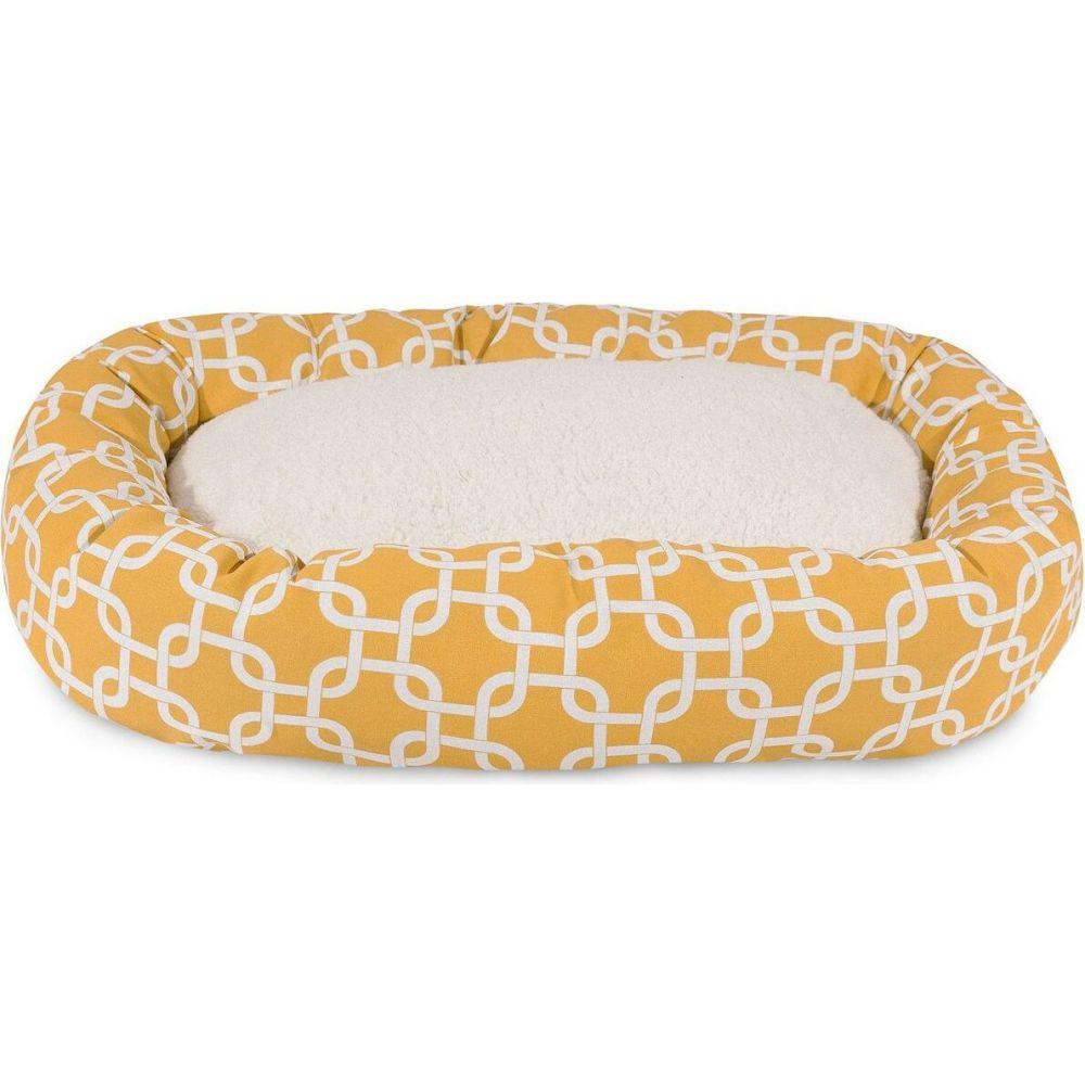Majestic Pet マジェスティックペット ペットグッズ 犬用品 ベッド・マット・カバー ベッド【Links Sherpa Bagel Dog Bed】Yellow