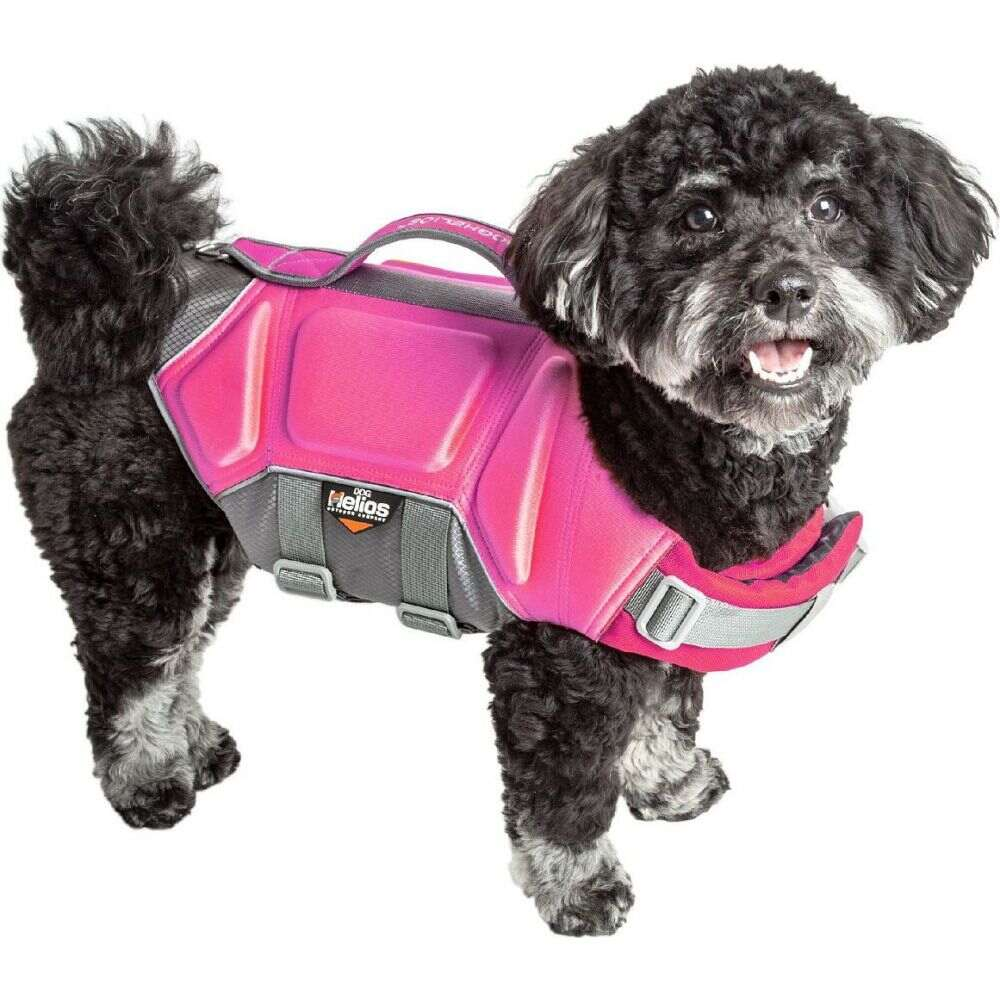 ドッグヘリオス Dog Helios ペットグッズ 犬用品 ウェア 訳あり商品 'Tidal Reflective Vest Jacket Pink Pet Guard' Life 高品質