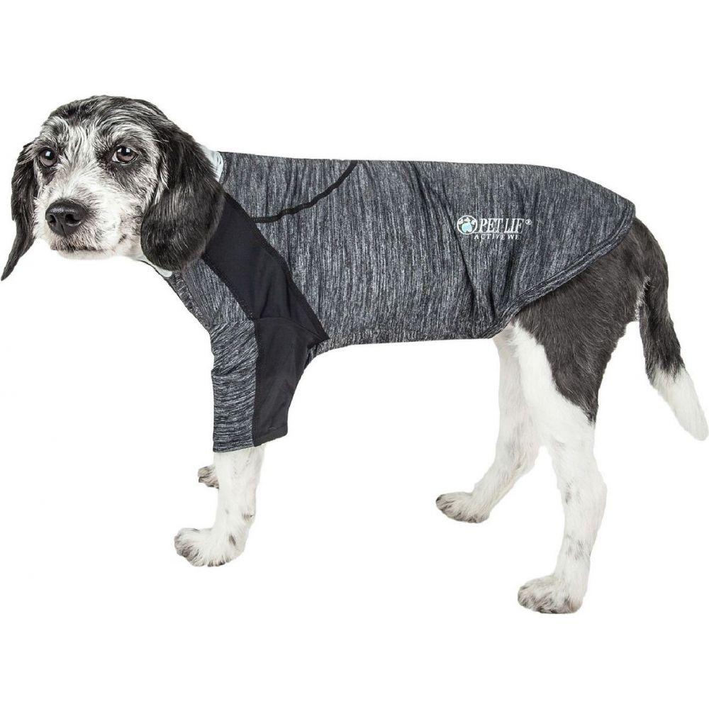 ペットライフ Pet Life ペットグッズ 犬用品 ウェア Pet Life ペットライフ ペットグッズ 犬用品 ウェア 【Active 'Chewitt Wagassy' Performance Long Sleeve Dog T-Shirt】Black