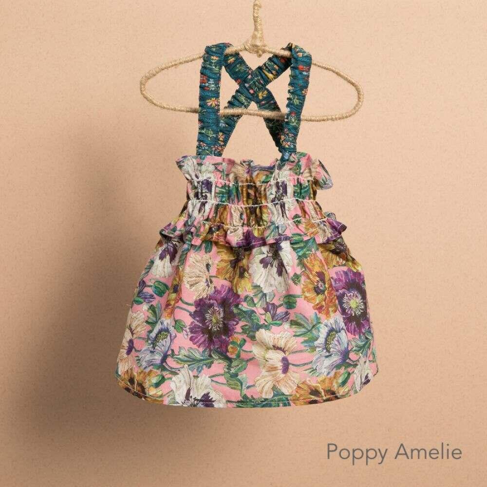 ルイスドッグ Louisdog ペットグッズ 犬用品 ウェア Louisdog ルイスドッグ ペットグッズ 犬用品 ウェア 【Liberty Floral Sun Dress】Poppy Amelie