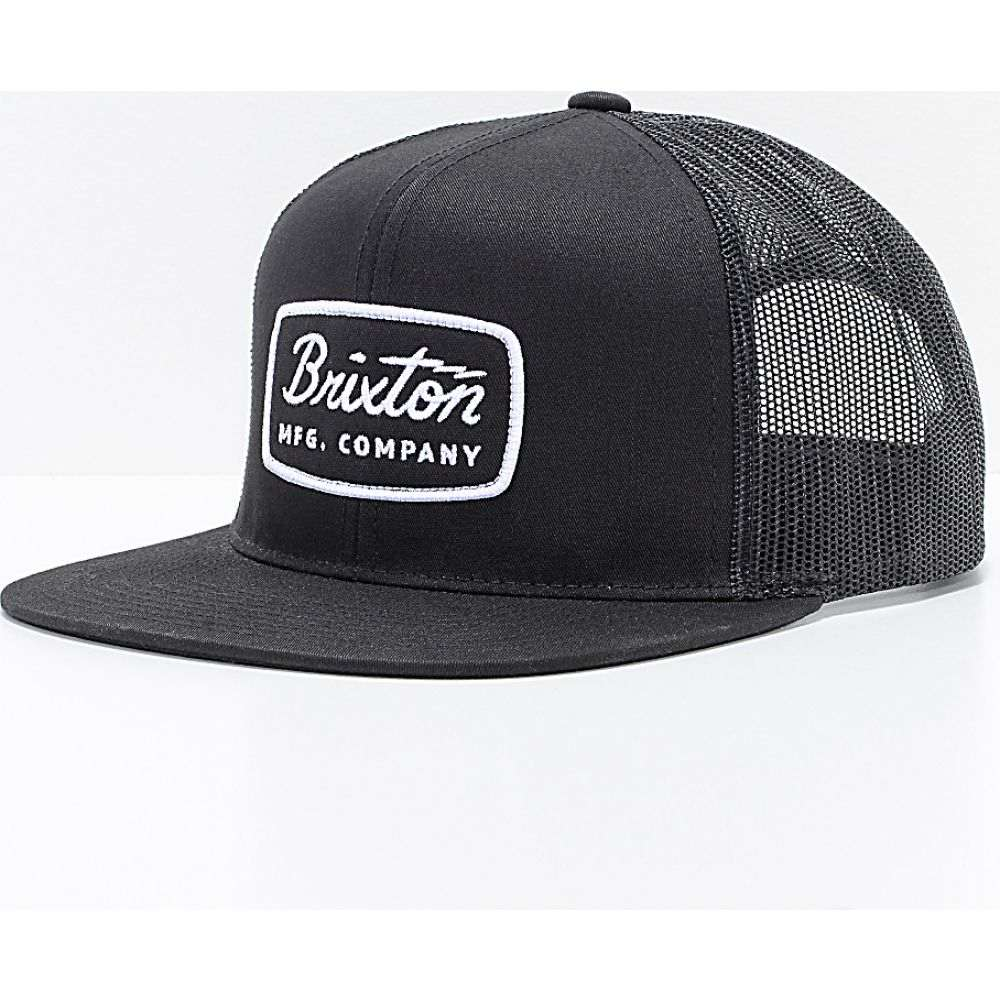 ブリクストン メンズ 帽子 キャップ Black サイズ交換無料 Jolt 国産品 Brixton NEW ARRIVAL BRIXTON Hat Trucker トラッカーハット