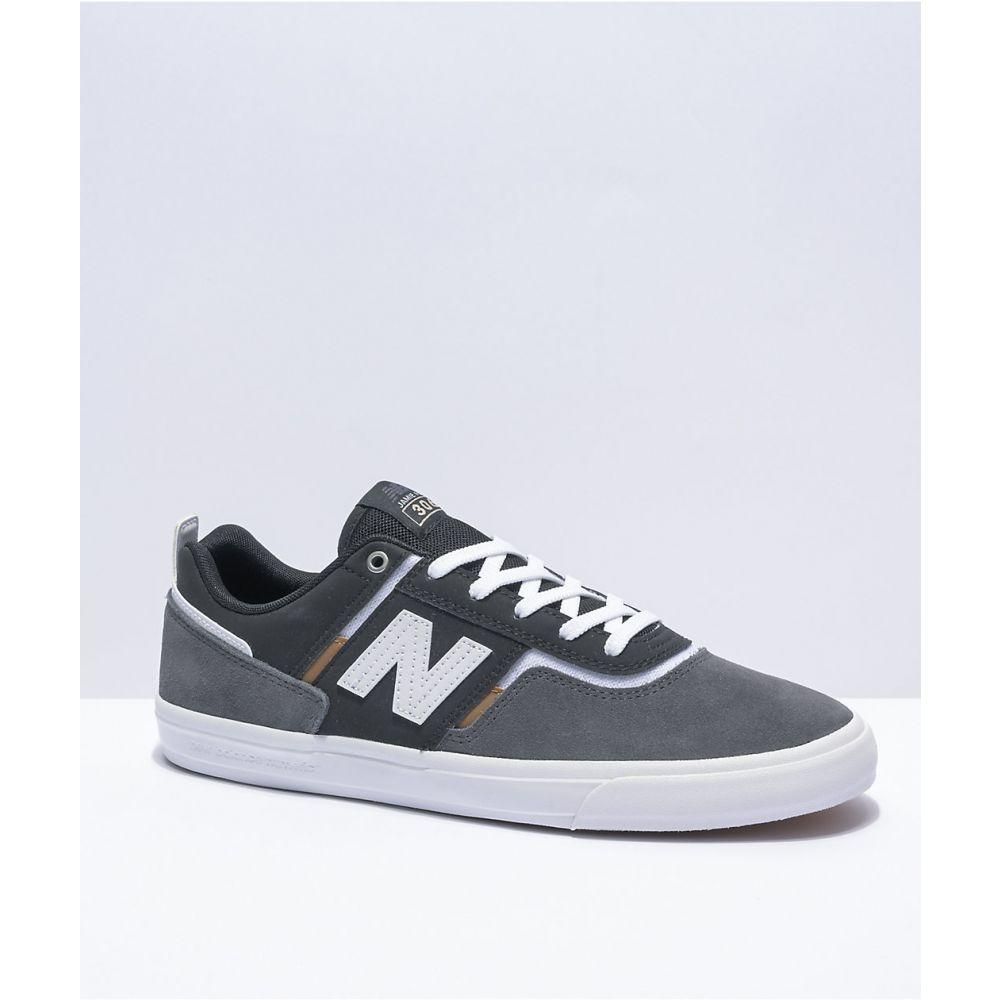 ニューバランス NEW BALANCE レディース スケートボード シューズ・靴【New Balance Numeric 306 Foy Grey, Black, & White Skate Shoes】Grey