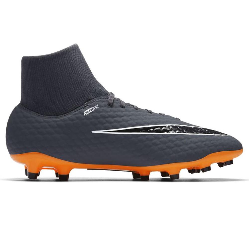 ナイキ Nike メンズ サッカー シューズ・靴【Hypervenom Phantom 3 Academy Dynamic Firm Ground Soccer Cleat】Grey/Orange