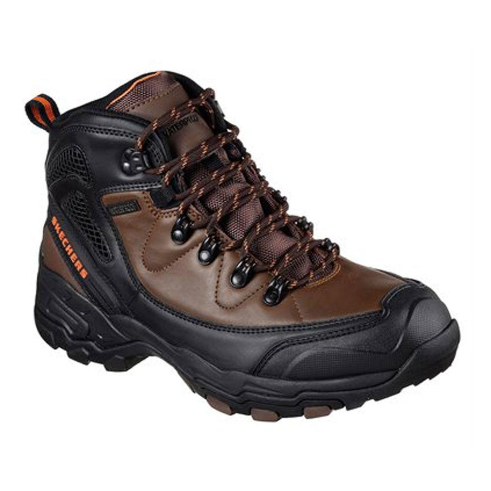 スケッチャーズ Skechers メンズ ハイキング・登山 シューズ・靴【Relaxed Fit Aster Hiker Boot】Brown