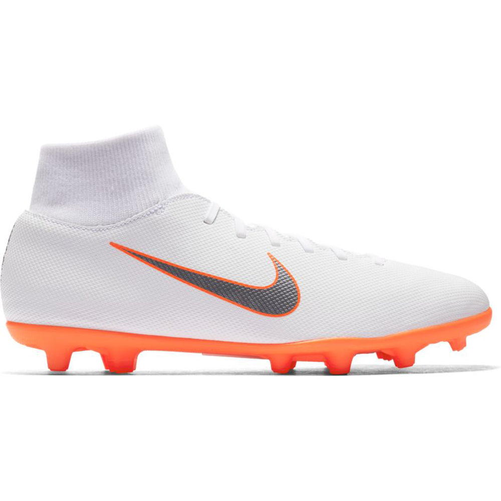 ナイキ Nike メンズ サッカー シューズ・靴【Superfly 6 Club Multi-Ground Soccer Cleat】White/Orange