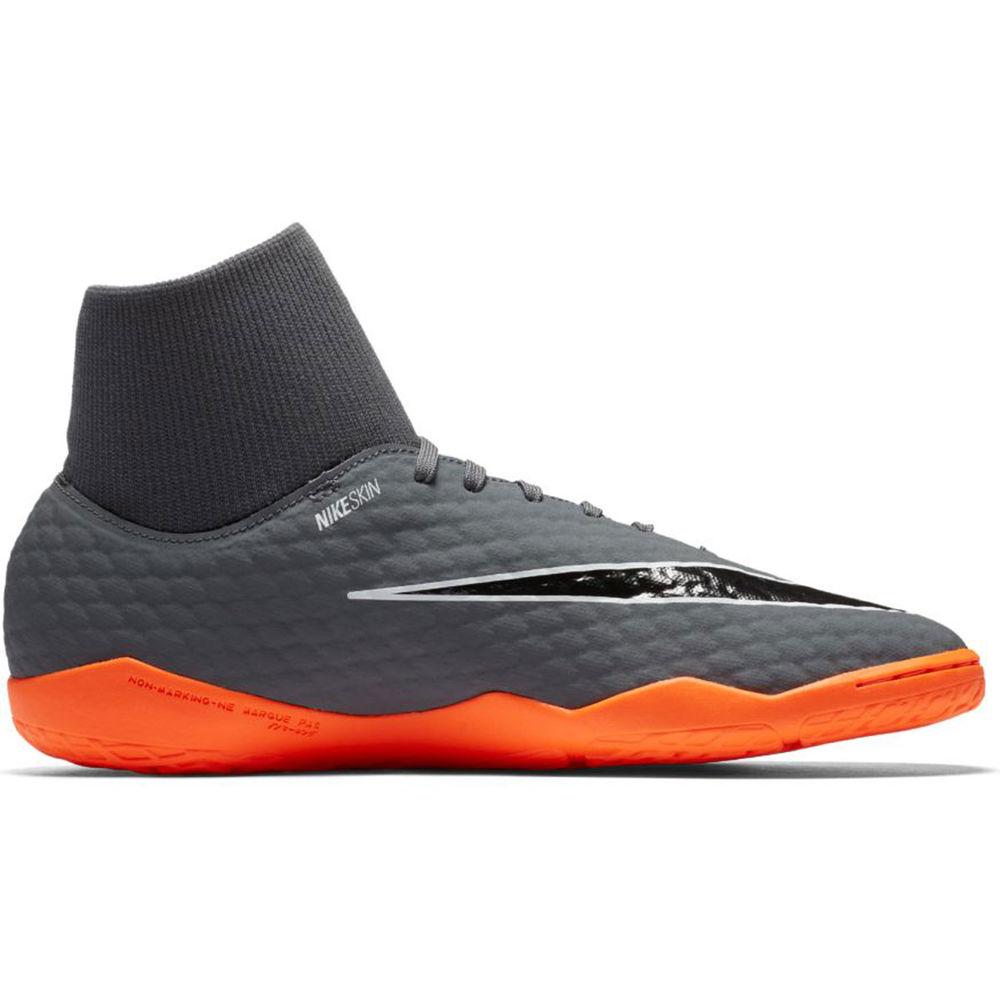 ナイキ Nike メンズ サッカー シューズ・靴【Hypervenom PhantomX III Academy Dynamic Fit Indoor Soccer Shoe】Grey/Orange