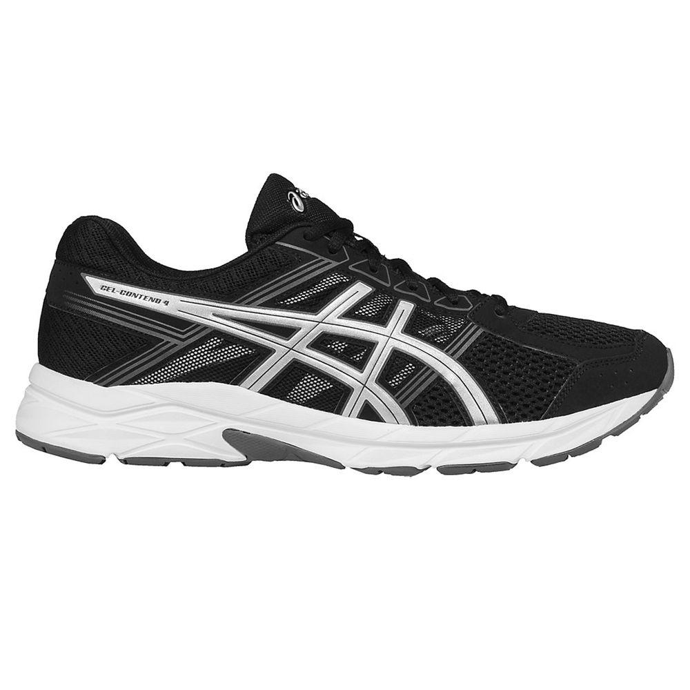【★超目玉】 アシックス メンズ ASICS メンズ ランニング Silver・ウォーキング シューズ・靴【GEL-Contend Running 4 Running Shoe】Black Silver, 熊本県:8bc119eb --- totem-info.com