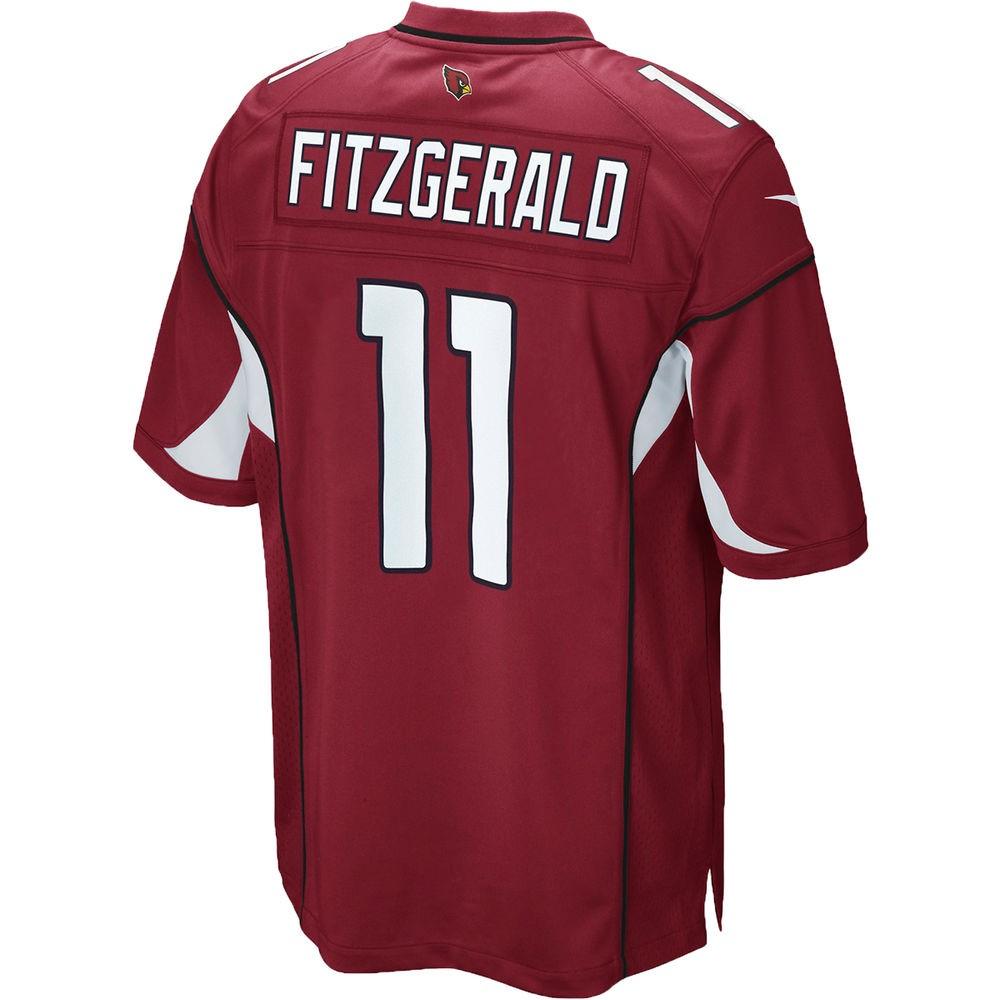 ナイキ Nike メンズ トップス【Arizona Cardinals Adult Larry Fitzgerald Game Jersey】Red