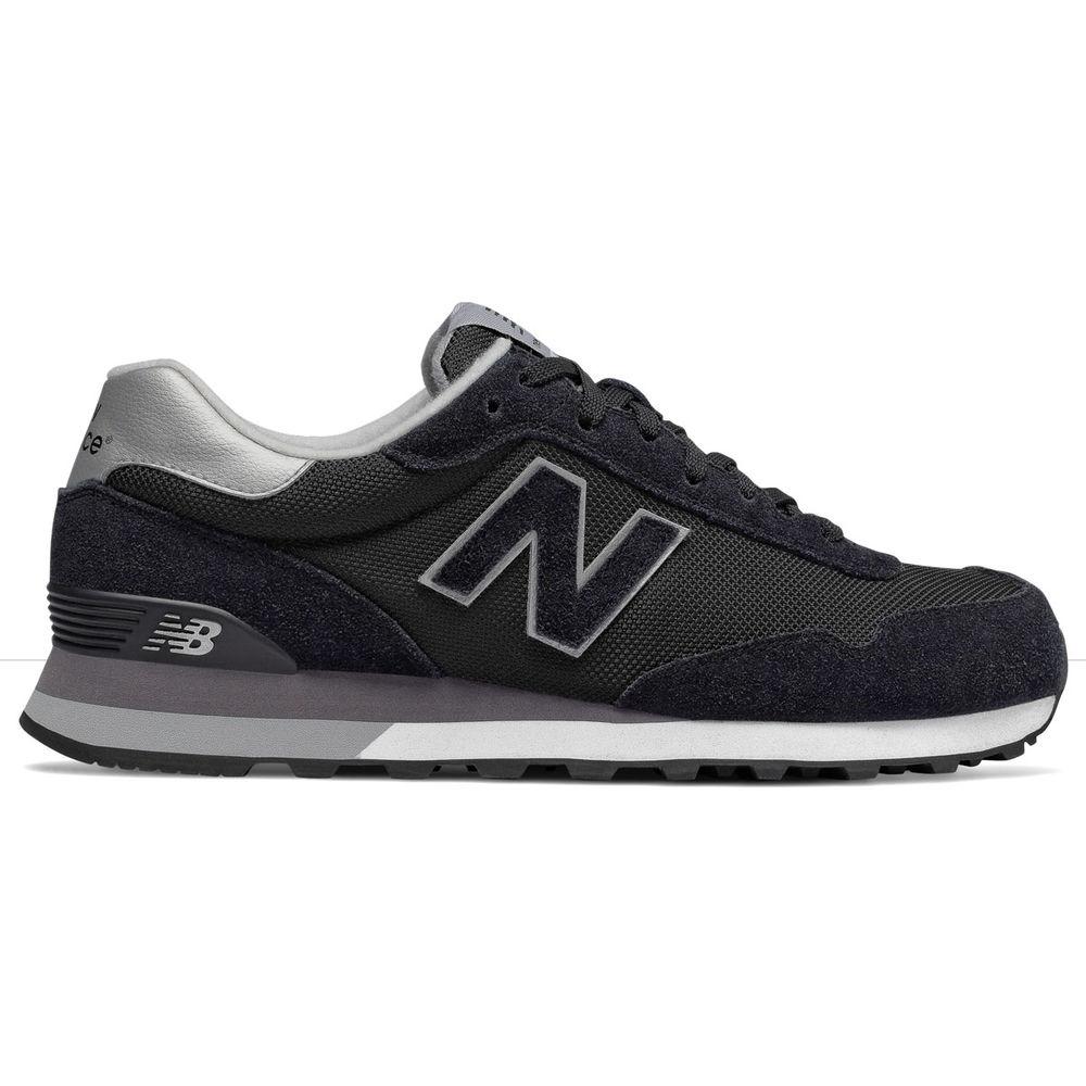 ニューバランス New Balance メンズ シューズ・靴 スニーカー【515 Retro Casual Shoe】Black/Grey