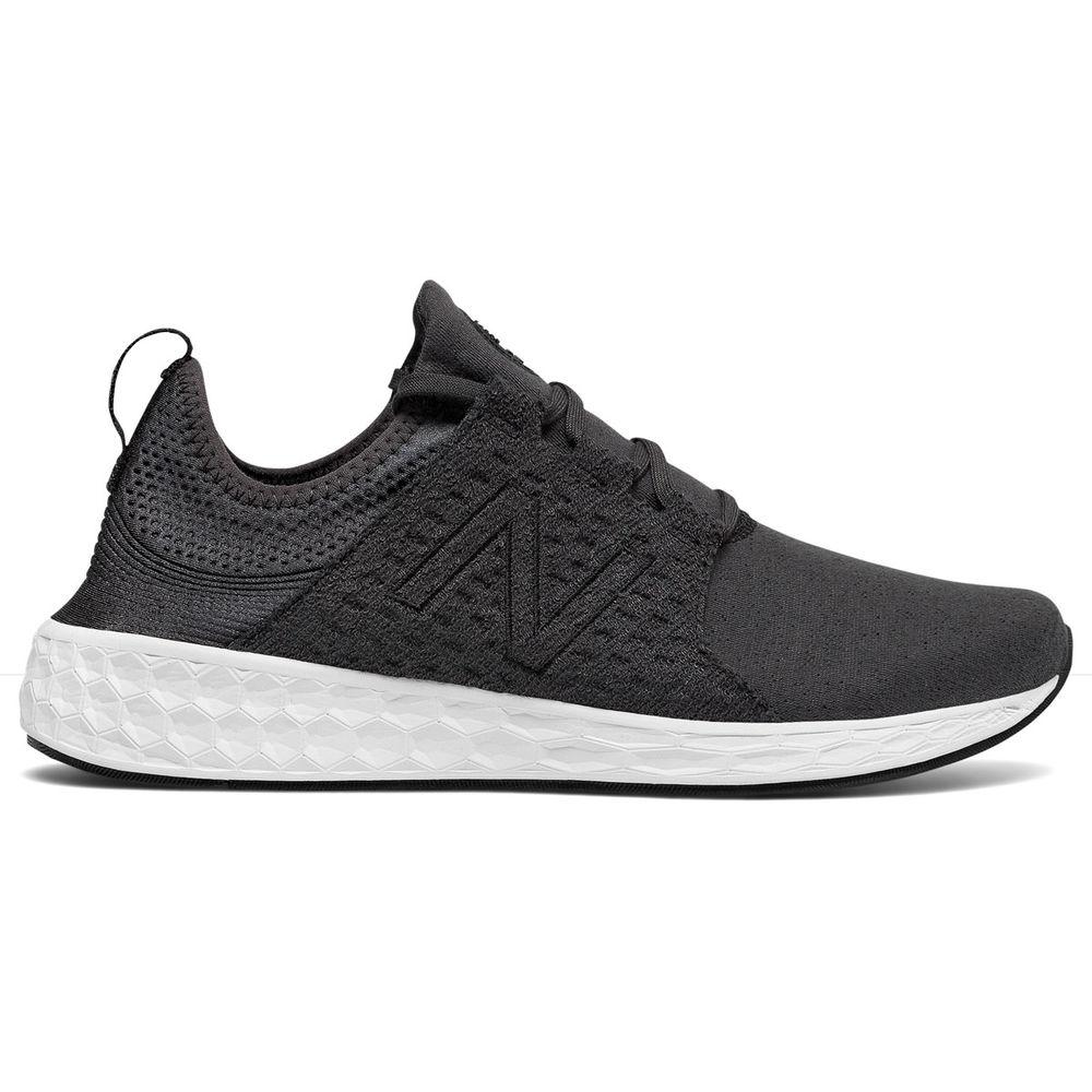 ニューバランス New Balance メンズ ランニング・ウォーキング シューズ・靴【Fresh Foam Cruz Running Shoe】Black/White