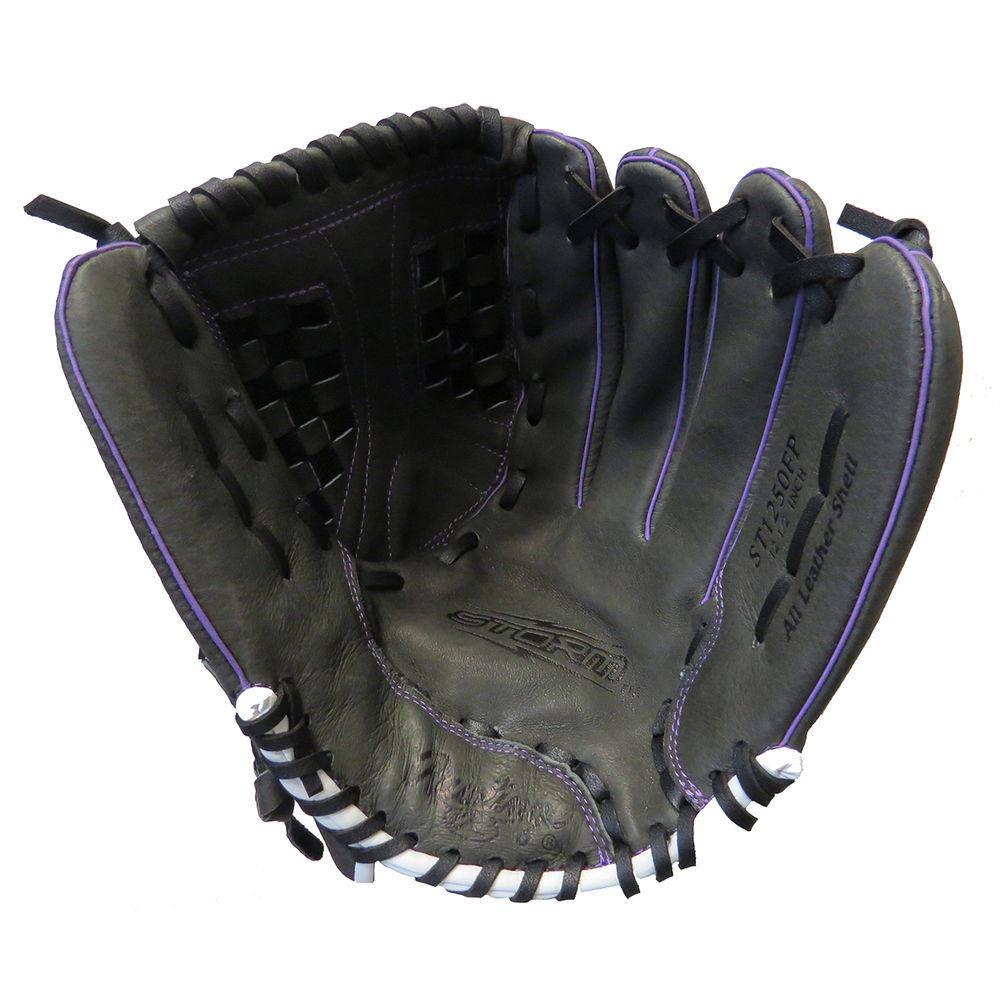 ローリングス Rawlings ユニセックス 野球 グローブ【Champion Lite 12.5 Inch Right Handed Throw Fast Pitch Softball Glove】Black/Purple