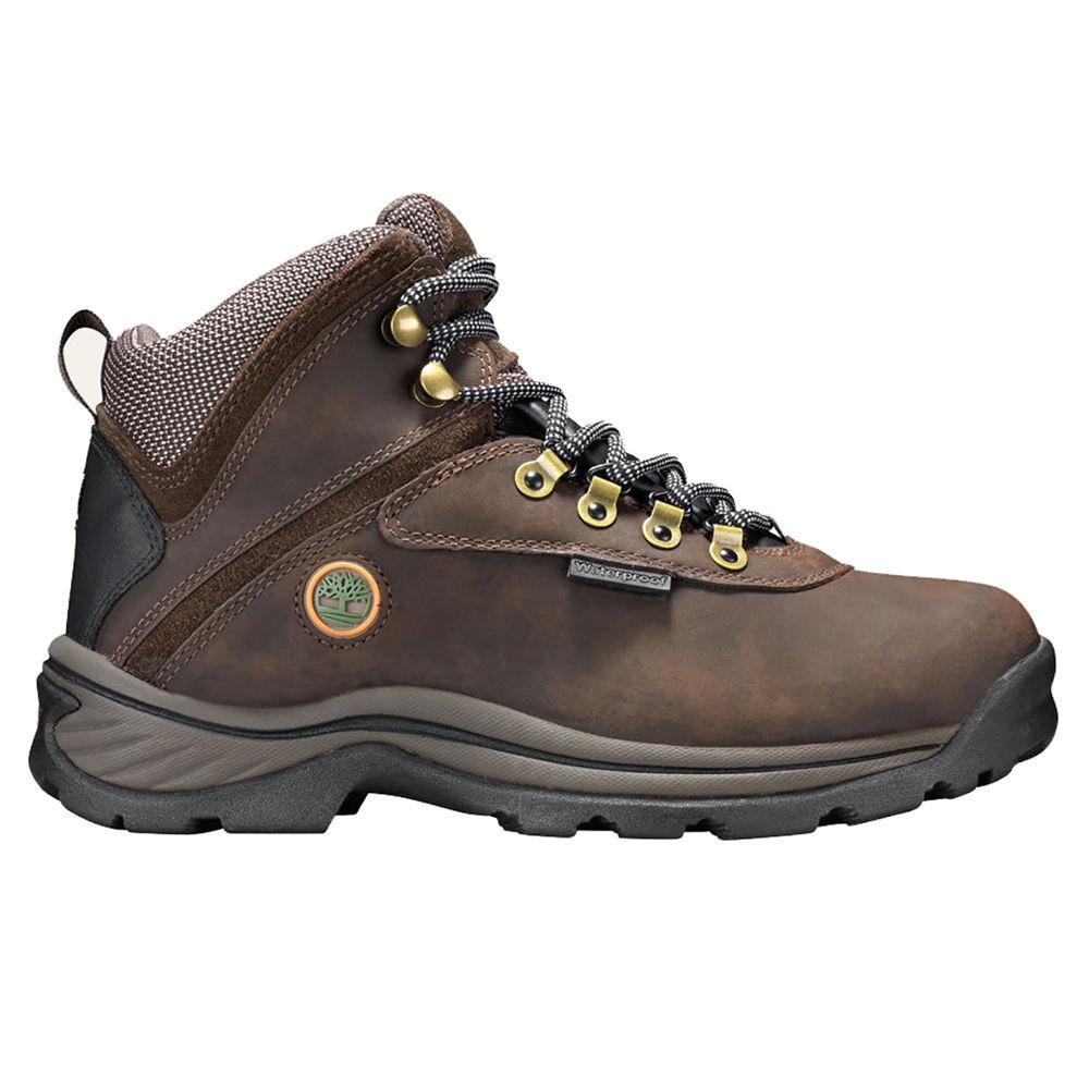 ティンバーランド Timberland メンズ ハイキング・登山 シューズ・靴【White Ledge Mid WP Boot】Brown
