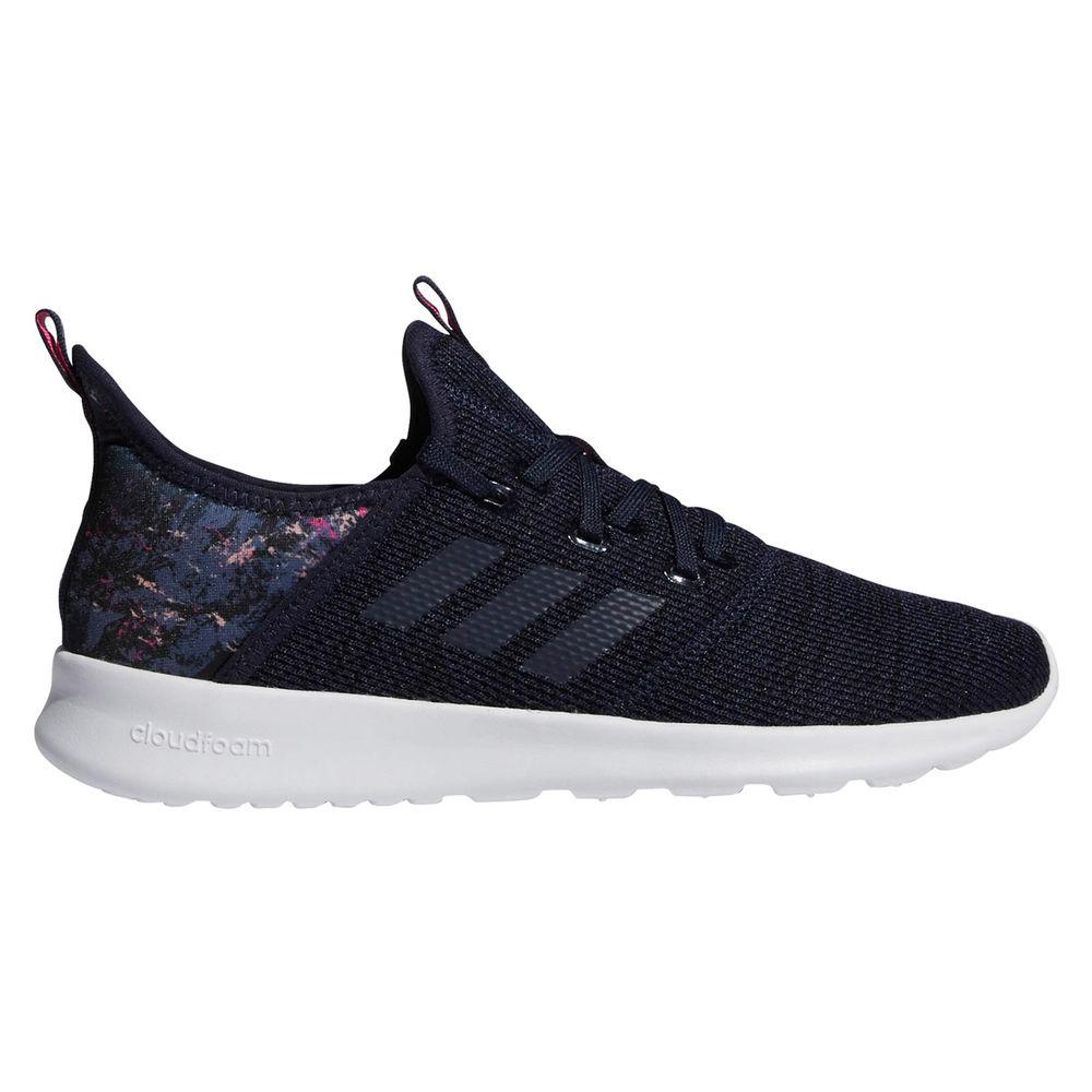 アディダス adidas レディース ランニング・ウォーキング シューズ・靴【Cloudfoam Pure Running Shoes】Navy/White